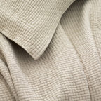 Pine Cone Hill - interlaken matelasse coverlet (sand) - Goes-with-anything woven, textured cotton matelasse coverlet in a range of rich, saturated hues.��This item comes in��sand.��This item size is��various sizes.