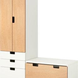 Ebba Strandmark/IKEA of Sweden - STUVA Storage combination with bench - Storage combination with bench, white, birch
