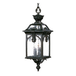 "Acclaim Lighting - Acclaim Lighting 7126 Belmont 3 Light 26"" Height Outdoor Pendant - Acclaim Lighting 7126 Belmont Three Light 26"" Height Outdoor PendantThis pendant from the Belmont Collection of exterior lights features a multitude of ornamental accents and baroque flourishes.Acclaim Lighting 7126 Features:"
