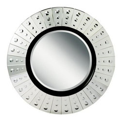 Lens Round Wall Mirror - 42W x 42H in. - About KichlerKichler designers travel the world to discover the latest trends in exterior and interior style, colors, and designs. They then translate the best of those trends into fixtures that will bring beauty, pleasure, and light into your home. Kichler fixtures stand the test of time and are functional works of art that you're sure to treasure.