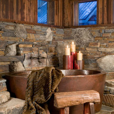 Traditional Bathroom by High Camp Home