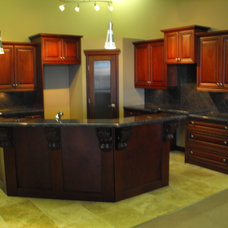 Traditional Kitchen Cabinetry by Authentic Cabinets & Stoneworks