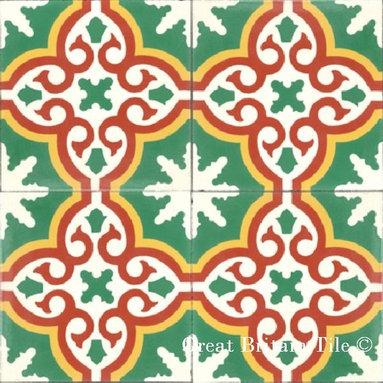 Cement Tile - Patterns -