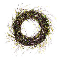 Silk Plants Direct - Silk Plants Direct Willow Wreath (Pack of 2) - Silk Plants Direct specializes in manufacturing, design and supply of the most life-like, premium quality artificial plants, trees, flowers, arrangements, topiaries and containers for home, office and commercial use. Our Willow Wreath includes the following: