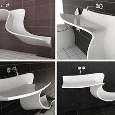 Contemporary Bathroom Sinks by sinofaucet