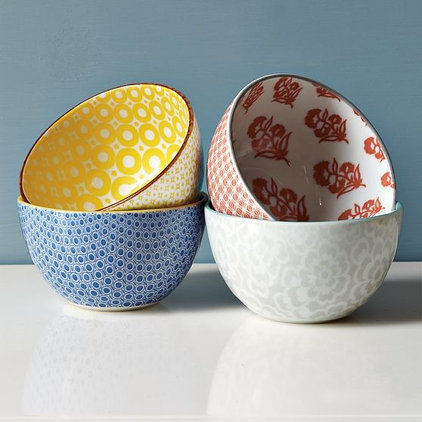 Eclectic Dining Bowls by West Elm