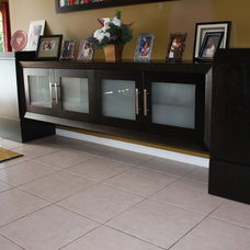 Contemporary Buffets And Sideboards by Art of Woodworking, Inc.