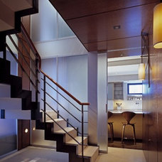 Traditional Staircase by Dineen Architecture + Design