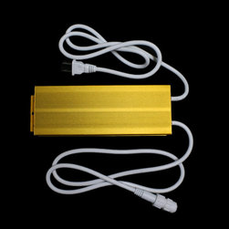 EnvironmentalLights - Power Cord with 8A Rectifier for Half Inch LED Rope Light EL12015 - 120 Volt AC LED rope light power cord, 6 feet long. Comes with a cap for the other end of the rope.