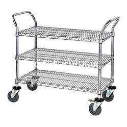 Wire Shelving This Wire Cart Comes Complete With 3