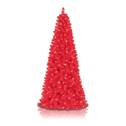 Treetopia™ Basics - Hot Pink Tree - ADORN YOUR HOME WITH THE TREETOPIA™ BASICS - HOT PINK TREE FOR A HOT AND GLAMOROUS HOLIDAY CELEBRATION