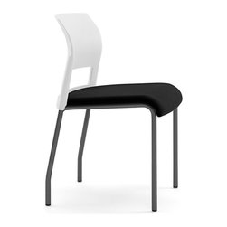 Steelcase - Steelcase Move Multiuse Chair, Black Frame and Glides - For a modern addition to your home or office, you can't go wrong with a stackable multiuse chair. This innovative design creates a comfortable seat and supportive frame that can be stacked up to save office space or used as a chic everyday chair in your dining room or kitchen. Now all you need to do is pick your favorite color.