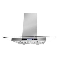 "AKDY - AKDY AG-198KQ2 Euro Stainless Steel Wall Mount Range Hood, 36"" - True professional style and performance have never been easier to bring home with the AKDY 198KQ2 36-inch wall range hood in Stainless Steel. This wall range hood comes with an integrated 760-CFM internal blower. Styling is fresh and modern, yet designed to easily complement popular cooking products. The 198KQ2 range hood embodies professional features such as powerful blowers, grease filters, brilliant LED lighting and variable speed controls. And while you won't see this feature, it's hard to miss the quiet operation. When you want professional style and performance, trust Golden Vantage to cover every detail."