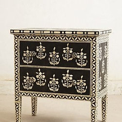 Anthropologie - Paisley Inlay Dresser - *Two drawers