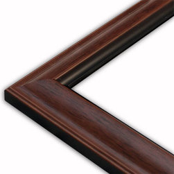 The Frame Guys - Standard Walnut Picture Frame-Solid Wood, 12x14 - *Standard Walnut Picture Frame-Solid Wood, 12x14