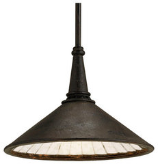eclectic pendant lighting by Currey &amp; Company