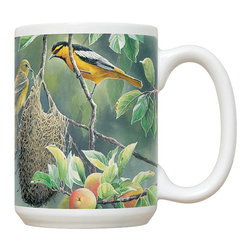 660-Northern Orioles Mug - 15 oz. Ceramic Mug. Dishwasher and microwave safe It has a large handle that's easy to hold.  Makes a great gift!
