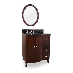 Lyn Design VAN067 Wood Vanity