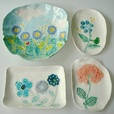 Tropical  by Clayshapes Pottery