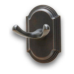 Residential Essentials - Venetian Bronze Ridgeview Robe Hook(RE2303VB) - Venetian Bronze Ridgeview Robe Hook