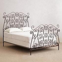 Anthropologie - Autumn Filigree Bed - *Iron, steel