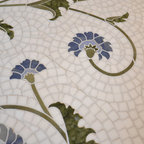 Floral Stone Mosaic - Studio V153 - Water Jet Collection