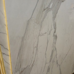 """Royal Stone & Tile Slab Yard in Los Angeles - 3/4"""" Calacatta Borghini Slab Polished 67"""" x 114"""" from Royal Stone & Tile in Los Angeles"""