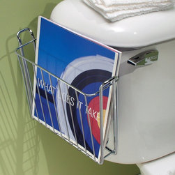 Interdesign - Interdesign 68930 Chrome Classico Over The Tank Magazine Rack Multicolor - 1551- - Shop for Bath Accessories from Hayneedle.com! Keep your bathroom free of clutter and keep your personal time occupied with the Interdesign 68930 Chrome Classico Over The Tank Magazine Rack. This handy rack attaches to the side of the tank for easy access and features a handsome chrome finish. Its steel wire construction makes it a sturdy accent to your room. Perfect for smaller bathrooms.About Easy TrackEasy Track is designed to you command your closet like never before. With a single wall-mounted rail and an endless array of cabinets hangers racks and more the Easy Track system let you put everything in its right place. Begin with a starter kit and expand from there. When your needs or space change so does your Easy Track closet system. They're great in closets from the basic to the walk-in and they also provide amazing storage solutions in laundry rooms craft rooms and more. Get Easy Track and see how simple your storage can be.