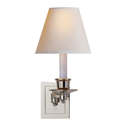 Visual Comfort & Co. - Visual Comfort & Co. S2005PN-NP Studio 1-Light Swing Arm Lights/Wall Lamps - This 1 light Swing-Arm Wall Light from the Studio collection by Visual Comfort will enhance your home with a perfect mix of form and function. The features include a Polished Nickel finish applied by experts. This item qualifies for free shipping!