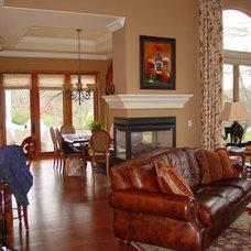 3 way fireplace for Three way fireplace