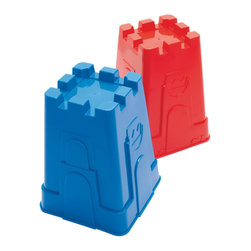 """The Original Toy Company - The Original Toy Company Kids Children Play Tall Castle Mold - Dishwasher safe plastic. Size: 6""""Lx 8""""H. Ages 18 months plus. Weight: 2 lbs."""
