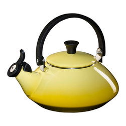 Zen Kettle, Soleil - I love this sunny yellow tea kettle!