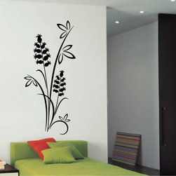 StickONmania - Plant Design #14 Sticker - A cool vinyl decal wall art decoration for your home  Decorate your home with original vinyl decals made to order in our shop located in the USA. We only use the best equipment and materials to guarantee the everlasting quality of each vinyl sticker. Our original wall art design stickers are easy to apply on most flat surfaces, including slightly textured walls, windows, mirrors, or any smooth surface. Some wall decals may come in multiple pieces due to the size of the design, different sizes of most of our vinyl stickers are available, please message us for a quote. Interior wall decor stickers come with a MATTE finish that is easier to remove from painted surfaces but Exterior stickers for cars,  bathrooms and refrigerators come with a stickier GLOSSY finish that can also be used for exterior purposes. We DO NOT recommend using glossy finish stickers on walls. All of our Vinyl wall decals are removable but not re-positionable, simply peel and stick, no glue or chemicals needed. Our decals always come with instructions and if you order from Houzz we will always add a small thank you gift.
