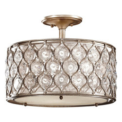 Murray Feiss - Murray Feiss Lucia Contemporary Semi Flush Mount Ceiling Light X-SUB982FS - Murray Feiss Lucia Contemporary Semi Flush Mount Ceiling Light X-SUB982FS