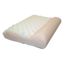 Hudson Industries - AcheNoMore Pillow - Ache reduction pillow. Helps reduce aches & pains due to bad sleeping posture/habits. Relieves stress in upper body. Corrects poor sleeping positions & posture while easing stress & strain of arthritis, inflammation & joint pain. Urethane foam core & removable zip off cover. Fits standard pillowcases. 30 Day Manufacturer's Warranty. 22 in. L x 15 in. W x 5 in. H (3 lbs)