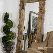 Eclectic Floor Mirrors by the essentials inside
