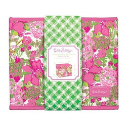 Lilly Pulitzer - Lilly Pulitzer Organizational Bin - Small, Beach Rose - Our small-sized Lilly Pulitzer organizational box is a colorful way to store what should not end up on the floor. Organize your vacation home, closet, kitchen, laundry room or office using one or more of these decorative storage boxes. The perfect size for hanging folders, this small-sized storage bin also works well for storing and organizing toys, magazines, stationery and more. These bins are sturdy, so feel free to load them up.