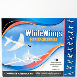 "White Wings Classic Set - Engineered by ""Japan's foremost authority on paper airplanes,"" White Wings are designed to fly like the real deal."