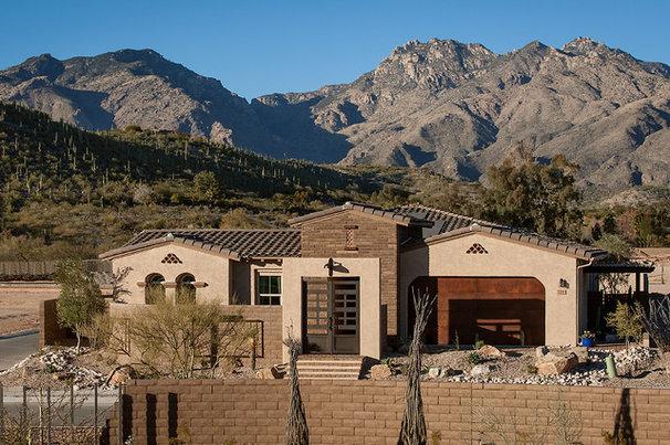 Rustic Exterior by Maracay Homes Design Studio