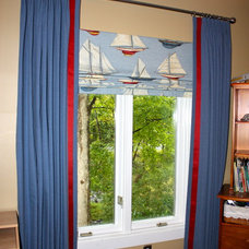 Modern Curtains by Hanging In Style Designs