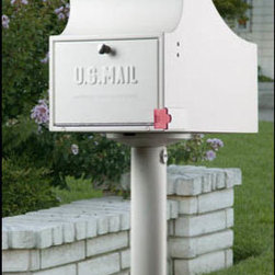 ETL - Securelogic Mail Vault - White - The Securelogic Mail Vault is the first truly secure residential mailbox designed to eliminate the problem of identity theft through stolen mail. The Secure Mail Vault has one of the largest drop chutes in its class, and has plenty of room for large envelopes and magazines. It is perfect for business or vacation, since a week's worth of average mail can be stored safely. The Secure Mail Vault combines imaginative design and durable function to bring you optimal mail security.