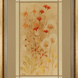 Paragon Decor - Pressed Flowers II Artwork - Exclusive Giclee on Embossed Metallic Foil