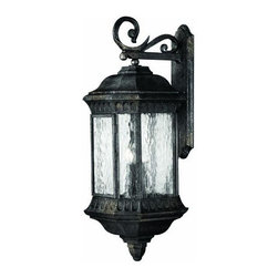 Hinkley - Hinkley Regal Four Light Black Granite Wall Lantern - 1726BG - This Four Light Wall Lantern is part of the Regal Collection and has a Black Granite Finish. It is Outdoor Capable.