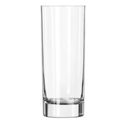 Libbey Glass - 15OZ. COOLER GLASS DURA TUFF EDGE SHEER RIM (24) - CAT: Smallwares & Equipment Glassware Beverage Glass