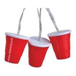 Red Cup Lights - These hilarious party cup lights will put a smile on everyone's faces. They're great for tailgating or neighborhood parties. Plus, they're battery operated, so they can go anywhere the party goes.