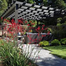 Contemporary Landscape by Ross Knazs & Associates, Landscape Architects