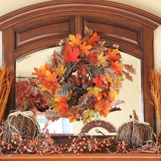 Traditional  Fall Mantle