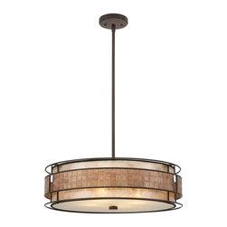 Quoizel Lighting - Quoizel MC8420CRC Mica Renaissance Copper Pendant - 4, 60W A19 Medium