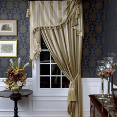 Traditional Window Treatments by Window Works Blinds and Draperies