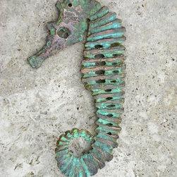 Recent work 2013 - Seahorse sculpture